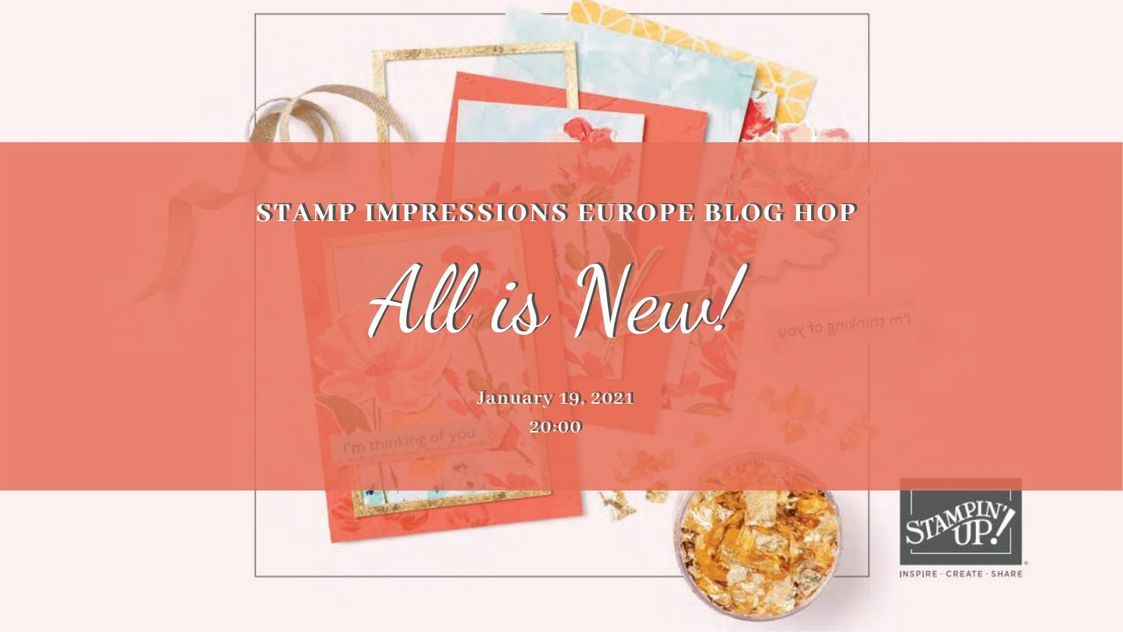 All is new – Stamp Impressions Europe Blog Hop