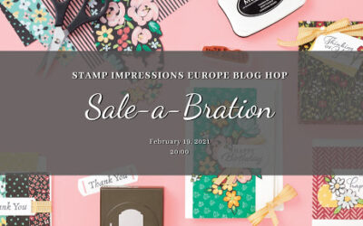 Sale – A – Bration! Stamp Impressions Europe Blog Hop