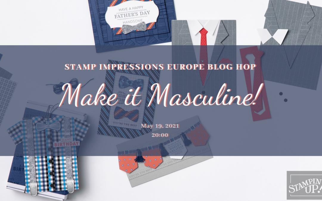 Make it Masculine: Stamp Impressions Blog Hop