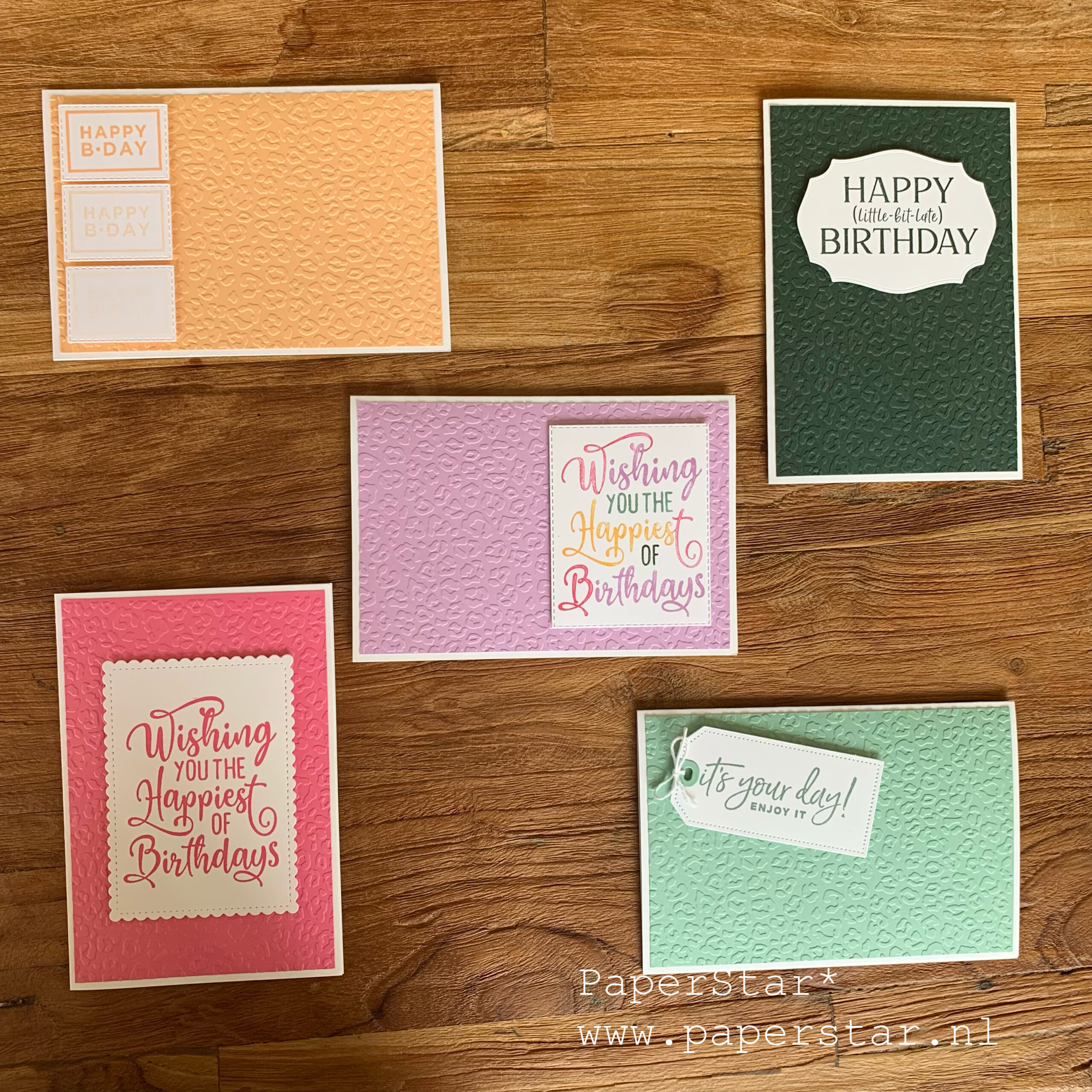 in color cards
