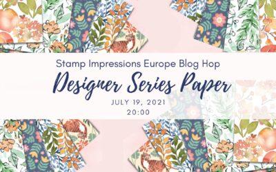 Designer Series Paper – Stamp Impressions Europe Blog Hop