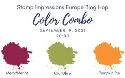 Colour Combo: Stamp Impressions blog hop