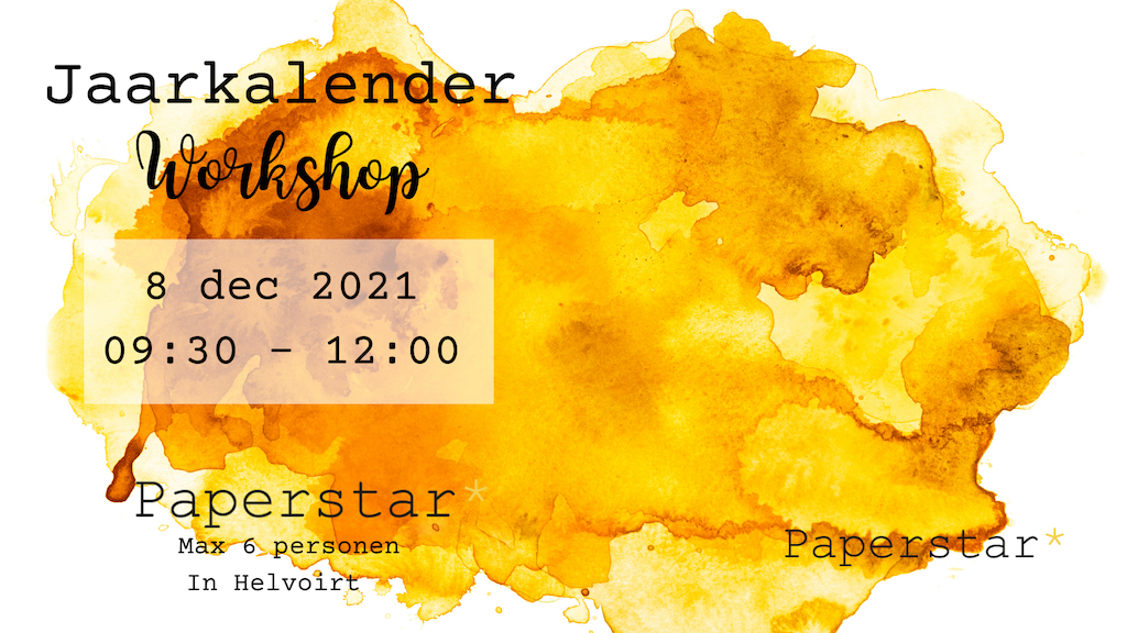 workshop jaarkalender